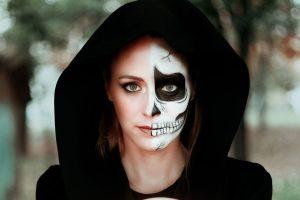 maquillaje de cara para halloween